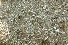 Textura gruesa de la arena Fotografía de archivo