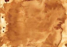 Textura hecha a mano del café fotografía de archivo libre de regalías