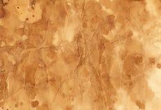 Textura hecha a mano del café Imagen de archivo libre de regalías