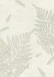 Textura hecha a mano del papel del pétalo de la flor Foto de archivo