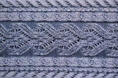 Textura hecha punto Imagen de archivo libre de regalías