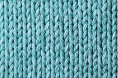 Textura hecha punto Foto de archivo libre de regalías
