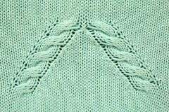 Textura hecha punto azul imagen de archivo libre de regalías