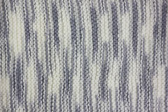 Textura hecha punto de la tela Imagen de archivo