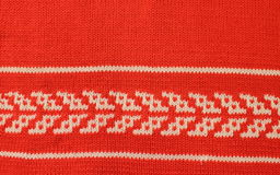 Textura hecha punto de las lanas Fotografía de archivo libre de regalías
