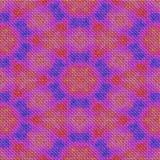 Textura hecha punto rosa abstracto inconsútil con el estampado de plores Foto de archivo