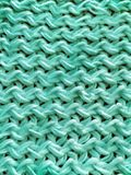 Textura hecha punto turquesa fotografía de archivo libre de regalías