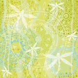 Textura hermosa con la libélula Fotos de archivo libres de regalías