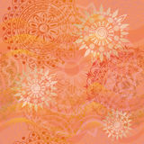 Textura hermosa en colores calientes Foto de archivo libre de regalías