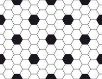 Textura hexagonal Imágenes de archivo libres de regalías