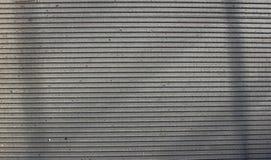 Textura horizontal de aço do fundo das listras imagens de stock