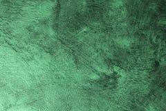 Textura hued lustrosa verde velha da parede - fundo abstrato maravilhoso da foto fotos de stock royalty free