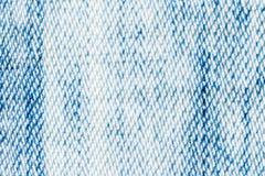 Textura, impresión y wale del modelo de la mezclilla de la tela Fotografía de archivo libre de regalías