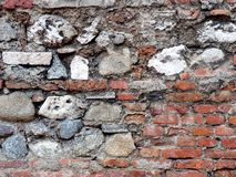 Textura incomum bonita da parede Foto de Stock