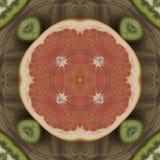 Textura inconsútil al mantel del comedor Coco de la textura Impresión tropical del adorno Imagen de archivo