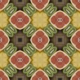 Textura inconsútil al mantel del comedor Coco de la textura Impresión tropical del adorno Fotografía de archivo libre de regalías