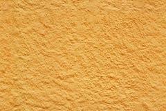 Textura inconsútil amarilla del estuco Imagen de archivo