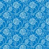 Textura inconsútil azul Imagenes de archivo
