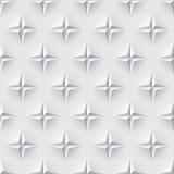 Textura inconsútil blanca 3d Fotografía de archivo