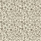 Textura inconsútil - ciencia stock de ilustración