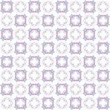 Textura inconsútil con 3D que rinde el modelo azul púrpura del fractal abstracto Fotos de archivo