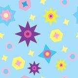 Textura inconsútil con las estrellas Imagenes de archivo