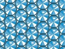 Textura inconsútil con los diamantes ilustración del vector