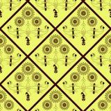 Textura inconsútil con los Rhombus Imagen de archivo