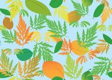Textura inconsútil con tema del otoño Foto de archivo