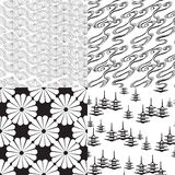 Textura inconsútil cuatro Imagen de archivo