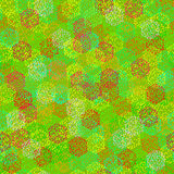 Textura inconsútil de bayas coloridas abstractas Imagen de archivo libre de regalías