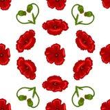 Textura inconsútil de la flor Foto de archivo libre de regalías