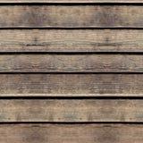 Textura inconsútil de la foto del dack caliente de la madera de construcción fotos de archivo libres de regalías
