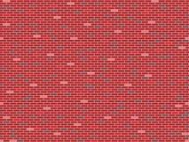 Textura inconsútil de la pared de ladrillos Imagen de archivo