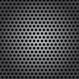 Textura inconsútil de la superficie de metal del círculo libre illustration