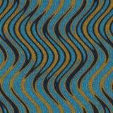 Textura inconsútil de la tela, modelo étnico Imagen de archivo