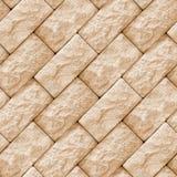 Textura inconsútil de los bloques de la piedra de la pared Imagen de archivo
