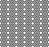 Textura inconsútil de los hexágonos Modelo del panal Imagen de archivo