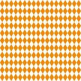 Textura inconsútil de Rhombus Colores blancos y anaranjados Imagenes de archivo