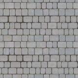 Textura inconsútil de Tileable de Gray Paving Slabs imágenes de archivo libres de regalías