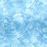 Textura inconsútil del agua, fondo abstracto de la charca Fotos de archivo