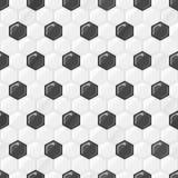Textura inconsútil del balompié Foto de archivo libre de regalías