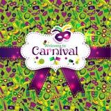 Textura inconsútil del carnaval brillante del vector Foto de archivo