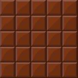 Textura inconsútil del chocolate stock de ilustración