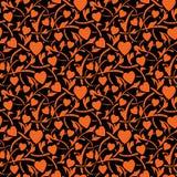 Textura inconsútil del día de San Valentín Imagen de archivo libre de regalías