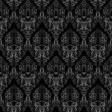 Textura inconsútil del damasco libre illustration