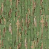 Textura inconsútil del entarimado de madera Verde fotografía de archivo