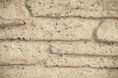 Textura inconsútil del fondo de la pared de ladrillo decorativa de piedra del granito Imagen de archivo