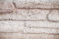 Textura inconsútil del fondo de la pared de ladrillo decorativa de piedra del granito Fotografía de archivo libre de regalías