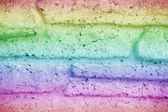 Textura inconsútil del fondo de la pared de ladrillo decorativa de piedra del granito Imagen de archivo libre de regalías
